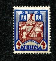 26118  Tuva 1927  Scott # 18 (*) - Tuva