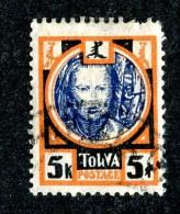 26127  Tuva 1927  Scott # 19 (o) - Tuva