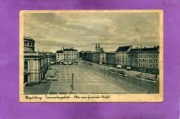 MAGDEBURG TANNENBERGPLATZ Otto Von Guericke Strasse - Magdeburg