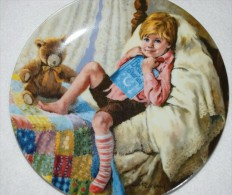 Diddle Dumpling RECO Collectible PLATE, Little Boy P41 - Ceramics & Pottery