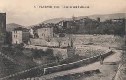 83 - FAYENCE - Var - Boulevard National - Fayence