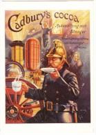 FIREMEN - 'Cadbury's Cocoa - Makes Strong Men Stronger' - Brandweer