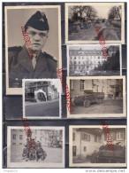 Fixe Weingarten * Bade Wurtemberg TOA Troupes Occupation Allemagne Tank Char D´assaut Engin Militaire Vie Du Camp - Guerra, Militari