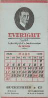 Pub Carton La Chemise Everight 1929 Guckenheim                             Tda101 - Plaques En Carton