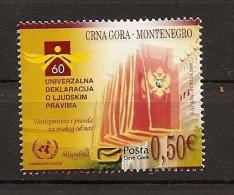MONTENEGRO 2008 ,MI. NO. 194,human Rights,,,MNH, - Montenegro