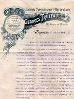 VP3512 - Lettre De Mr George TRUFFAUT à VERSAILLES à SCHLOESING De PARIS Concernant La Transformation Des Jus De Tabac - Documents