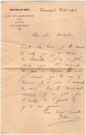 VP3513 - Lot Et Garonne - Lot De Lettres De La Direction Des Tabac à TONNEINS - Cabinet Du Directeur - Documents
