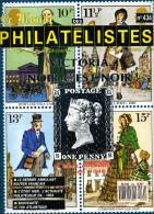Le Monde Des Philatelistes N.434,10/89,carnet Monde,Penny Black,1793,expertise Debria 1950,CM Paris,ambulant,faux Merson - French (from 1941)