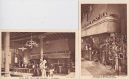 16 / 3 / 308  -    HÔTEL  DIEU  DE  BEAUNE  ( 21 )  2  CPA  -  LA CUISINE  &  TOURNE  BROCHE - Beaune
