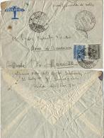 AEROGRAMMA POSTA MILITARE 304 1943 LIBIA ? X MORRO DI CAMERINO TASSATA - Posta Militare (PM)