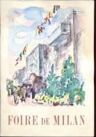 Brochure Tourisme - Foire De Milan - +- 1951 - Dépliants Touristiques
