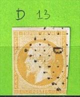 LOSANGE DE PARIS D SUR N°13 - 1849-1876: Période Classique
