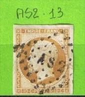 LOSANGE DE PARIS AS2 SUR N°13 - 1849-1876: Période Classique