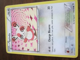 CARTE POKEMON SPINDA - Pokemon