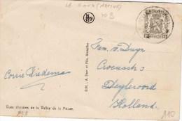 "RELAIS : ZK PZ (B) RELAIS ""LE ROUX (NAMUR) 15.8.48"" - Postmark Collection"