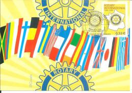 Paris  2005  Rotary - Cartes-Maximum