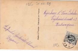 "RELAIS : ZK PZ (B) RELAIS ""EYNTHOUT 31.XII.29"" - Postmark Collection"