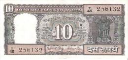 India - Pick 60h - 10 Rupees 1984-1985 - VF+ - Inde