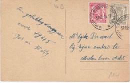 "RELAIS : ZK PZ (B) RELAIS ""MIELEN BOVEN AALST (LIMB.) 31.12.44"" - Postmark Collection"