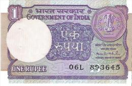 India - Pick 78A-g - 1 Rupee 1991 - Unc - Inde