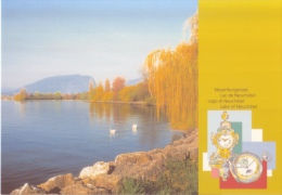 Clocks - Lake Of Neuchâtel - Suisse - Watch - Horlogerie
