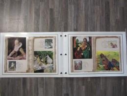 FRANCE FDC 1 Document CEF N°218 Et 218S Edition Limitée 15513/32000 Premier 1er Jour SERIE ARTISTIQUE 1972 Timbre - FDC