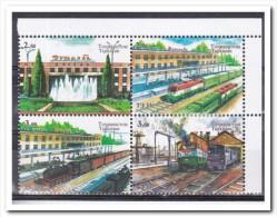 Tadzjikistan 2015, Postfris MNH, Trains - Tadzjikistan