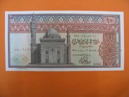 AC - EGYPT 10 POUNDS 1969 - 1978 KM 46 9070 UNCIRCULATED - Egipto