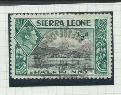 Sierra Leone Travelling Post Office Cancel Freetown - Bo On 1/2d KGVI - Sierra Leone (...-1960)