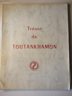 """Trésor De Toutankhamon 10 Photographies  Publicité """"pyridoscorbine"""" - Archéologie"""