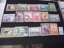 CONGO BELGE TIMBRE OU SERIE YVERT N° 168--182 - 1923-44: Gebraucht