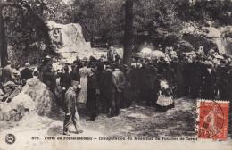 Forêt De Fontainebleau - Inauguration Du Médaillon De Foucher De Careil - Fontainebleau