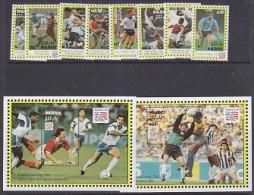 Maldives 1994 Football World Cup USA 8v + 2 M/s ** Mnh (WC118A) - 1994 – USA
