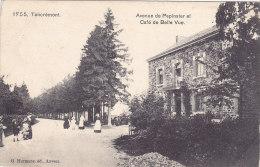 Tancrémont - Avenue De Pepinster Et Café De Belle Vue (animée, G Hermans, Chocolat Eugène Gevers) - Pepinster