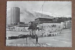 SESTRIERE ---PARTENZA SKI LIFT VERSO IL SISES-1955 --ANIMATA ----   -BELLA - Unclassified
