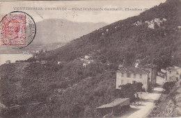 Italie - Ventimiglia Grimaldi - Hotel Ristorente Garibaldi, Claudina - 1918 - Imperia