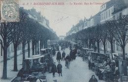 Rochefort 17 - Marchands Marché Rue De L'Arsenal - Editeur G.P. N° 7 - Rochefort