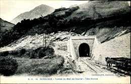 CPA - Sarrance (64) - Tunnel Ferroviaire Du Transpyrénéen - Ouvrages D'Art