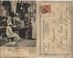 CARTOLINA ILLUST CAIRO ANNULLO REGIA NAVE CARACCIOLO 1903 X CAGLIARI - Posta Militare (PM)