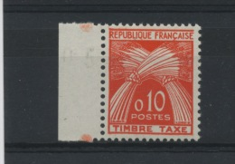 FRANCE - TAXE N° Yt 91** - Segnatasse
