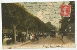 Enghien-les-Bains (95.Val D´Oise) Le Boulevard De La Ceinture - Enghien Les Bains