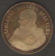 ITALIA NAPOLEONE SOVRANO DELL´ELBA 1814 1815 UBICUMQUE FELIX AG SILVER - Monarchia/ Nobiltà