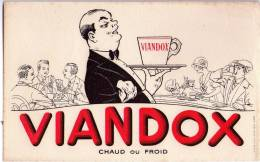 BUVARD  - VIANDOX - Chaud Ou Froid - Lebensmittel