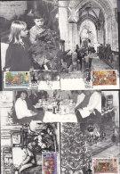 GUERNSEY  260-264 Auf 5 Maximumkarten, 1983, 100 Jahre Boys´ Brigade - Guernsey