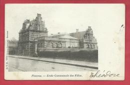 Fleurus - Ecole Communale Des Filles - 1908 ( Voir Verso ) - Fleurus