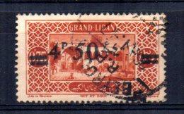 Lebanon - 1926 - 4p50 Surcharge - Used - Liban