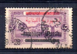 Lebanon - 1928 - 5p Definitive Overprinted - Used - Liban