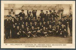 1928 Holland Amsterdam Olympische Spelen Olympics Weenenk & Snel Postcard 70 - Olympic Games
