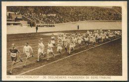 1928 Holland Amsterdam Olympische Spelen Olympics Weenenk & Snel Postcard 101 Marathon - Olympic Games