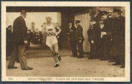 1928 Holland Amsterdam Olympische Spelen Olympics Weenenk & Snel Postcard 104 Marathon - Olympic Games